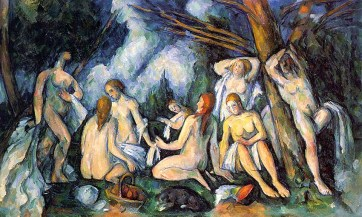 cezanne.THE LARGE BATHERS